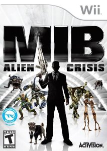 Jogo Lacrado Mib Men In Black Alien Crisis Para Nintendo Wii