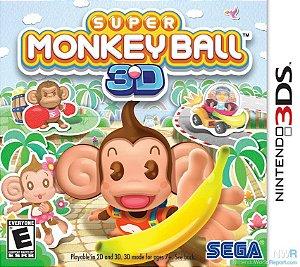 Jogo Novo Lacrado Super Monkey Ball 3d Para Nintendo 3ds
