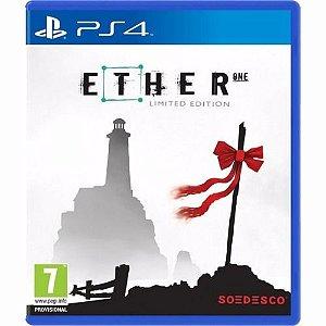 Jogo Mídia Física Ether One Limited Edition Para Ps4