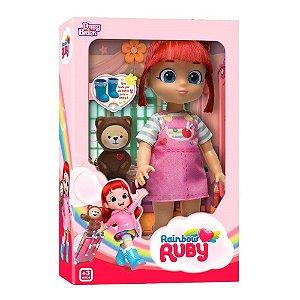 Brinquedo Boneca Rainbow Ruby E Choco Original Babybrink