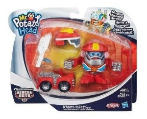 Boneco Mr Potato Transformers Bombeiro Hasbro A7273 9341