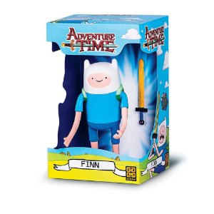 Brinquedo Boneco Adventure Time Finn Original Grow