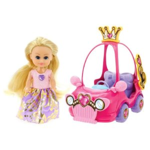 Boneca Sparkle Girlz Mini Carro Sparkles Surpresa Dtc 4806