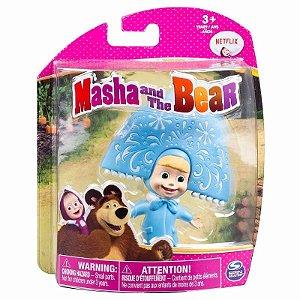 Brinquedo Boneca Masha E O Urso Masha Azul Sunny