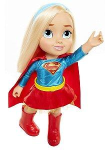 Boneca Grande Original Super Girl Mimo Infantil 35cm