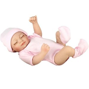 Boneca Realista Mini Reborn Laura Doll Baby Angels Dream