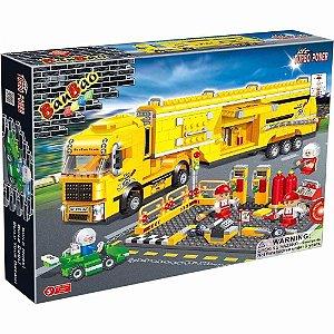 Bloco De Montar Banbao Corrida Caminhão Manutenção 8761