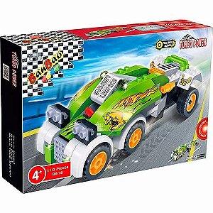 Bloco De Montar Banbao Corrida Carro Leopardo 8616