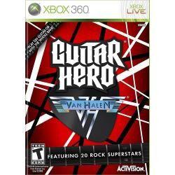 Jogo Novo Lacrado Ntsc Guitar Hero Van Halen Para Xbox 360