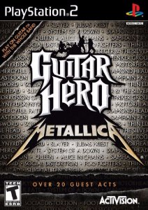 Jogo Mídia Física Guitar Hero Metallica Recondicionado Ps2