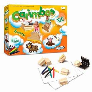 Brinquedo Educativos Carimbo Animais Do Sítio Xalingo 50787