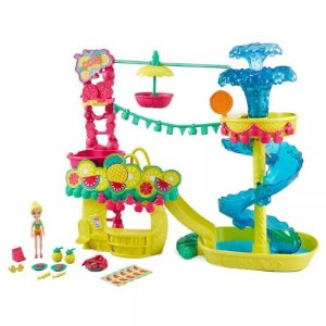 Brinquedo Polly Pocket Parque Aquático Dos Abacaxis Fcg97