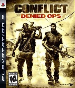 Jogo Novo Lacrado Conflict Denied Ops Para Playstation 3