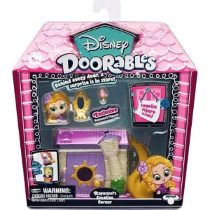 Playset Doorables Disney Cantinho Criativo Rapunzel Dtc 5083