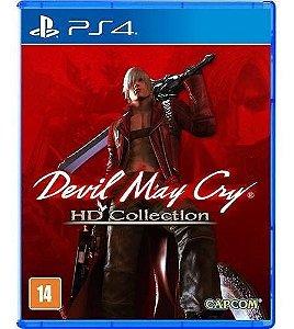 Jogo Mídia Física Devil May Cry Hd Collection Original Ps4