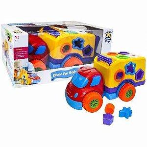 Brinquedo Infantil Educativo Carro Robustus Baby Diver Toys