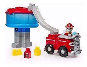 Brinquedo Patrulha Canina Torre Resgate Caminhão Bombeiro