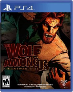 Jogo Novo Lacrado The Wolf Among Us Para Playstation 4 Ps4