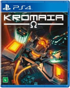 Jogo Mídia Física Kromaia Original Playstation 4 Ps4