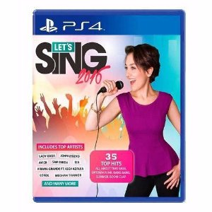 Jogo Mídia Física Lets Sing 2016 Original Playstation Ps4