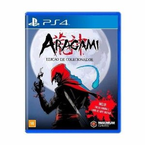 Jogo Mídia Física Aragami Collectors Edition Original Ps4
