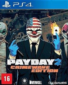 Jogo Novo Payday 2 Crimewave Edition Para Playstation 4 Ps4