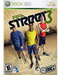 Jogo Mídia Física Fifa Street 3 Original Xbox 360