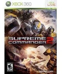 Jogo Americano Lacrado Supremme Commander 2 Para Xbox 360
