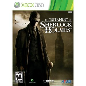 Jogo Novo The Testament Of Sherlock Holmes Para Xbox 360