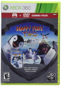 Jogo Happy Feet Two Com Filme Original Para Xbox 360