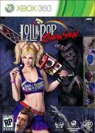 Jogo Lider Torcida Lollipop Chainsaw Midia Fisica Xbox 360