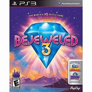 Jogo Mídia Física Bejewelded 3 Puzzle Original Playstation 3