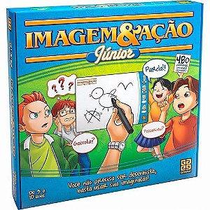 Brinquedo Educativo Novo Lacrado Grow Imagem E Ação Junior
