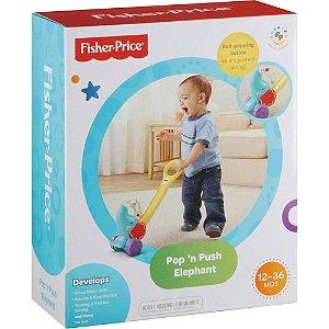 Brinquedo Fisher Price Elefante Bolinhas Divertidas Y8651
