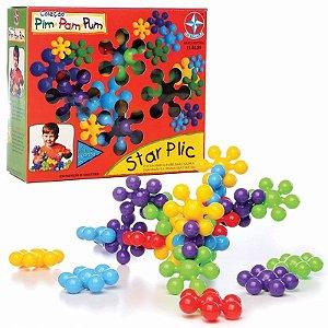 Novo Brinquedo De Montar Coleção Pim Pam Pum Star Plic