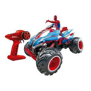 Carrinho De Controle Remoto Crawler Homem Aranha 7 Funções