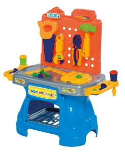 Brinquedo Novo Bancada De Trabalho Mini Mechanic Da Calesita