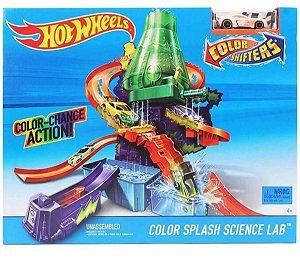 Brinquedos Hot Wheels Pista Laboratório Cientifico Mattel