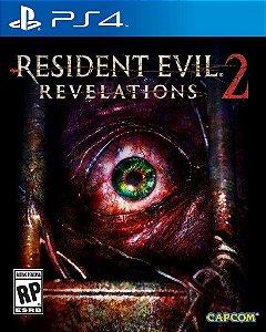 Jogo Novo Resident Evil Revelations 2 Para Playstation 4