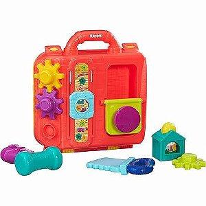 Brinquedo Bebe Playskool Maleta Cozinha Divertida Hasbro