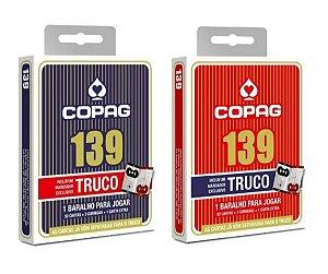 Novo Lacrado Baralho Original Copag 139 Truco 2 Unidades