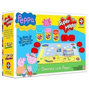 Brinquedo Novo Lacrado Super Massa Peppa Da Estrela