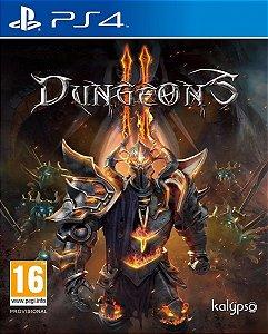 Jogo Novo Mídia Física Dungeons Original Playstation 4