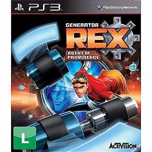 Jogo Generator Rex Agent Of Providence Para Playstation 3