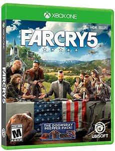 Jogo Mídia Física Far Cry 5 Original Para Xbox One