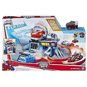Brinquedo Transformers Rescue Pista Corrida Optimus C0216