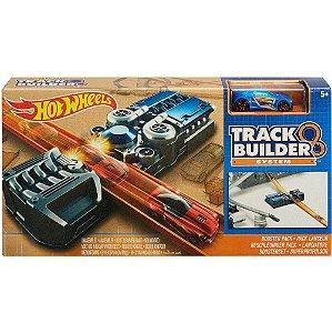 Lançador Hot Wheels Track Builder Kit Acelerador Fnj25 Matel
