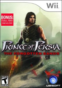 Jogo Mídia Física Prince Of Persia The Forgotten Sands  Wii