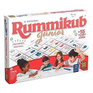 Brinquedo Jogo de Tabuleiro Rummikub Junior da Grow 03513