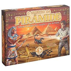 Jogo de Tabuleiro Infantil O Segredo da Piramide Grow 03711